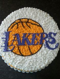 Lakers cake♡♡♡