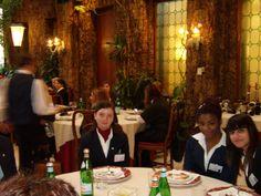 Alcune concorrenti durante la pausa pranzo - VI° GPAV @ Hotel Papadopoli / Venezia