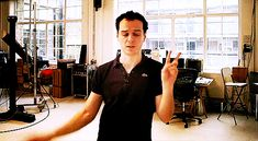 Oh Andrew, you are adorable. (GIF, click through)