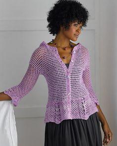 Kristin Omdahl es una diseñadora de prendas y accesorios tejidos a mano. Alterna punto y ganchillo, pero la segunda es la técnica que emplea predominantemente. Es también autora de libros tejeriles…