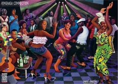 Wyróżnione African American Artist, African Artists, Cheri Samba, Jamaica History, Lake Art, Beauty In Art, Congo Kinshasa, Popular Art, Afro Art