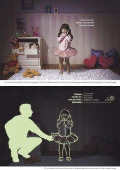 """""""Apaga la luz y ayuda a Annie a superar su miedo a la oscuridad"""" - Contra la Pedofilia."""