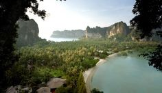 Rayavadee: Rayavadee is a 26-acre property in Krabi, one of Thailand�s lesser-known provinces.