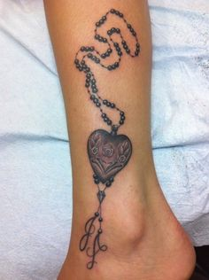 Heart with initials
