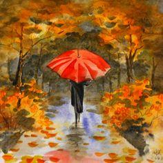 дождь осень зонт картинки: 19 тыс изображений найдено в Яндекс.Картинках