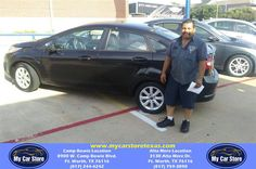 https://flic.kr/p/JpENo1 | Congratulations Norberto on your #Ford #Fiesta from Marco Caldera at My Car Store! | deliverymaxx.com/DealerReviews.aspx?DealerCode=OUVL