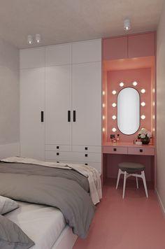 Small Room Design Bedroom, Master Bedroom Interior, Room Ideas Bedroom, Home Room Design, Bedroom Decor, Bedroom Built In Wardrobe, Teen Room Designs, Decor Home Living Room, Aesthetic Room Decor