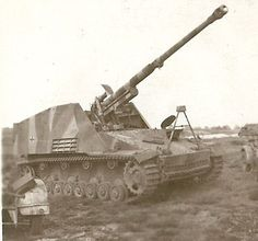 Nashorn (rhinoceros), initially known as Hornisse (hornet), was a German tank destroyer of World War II. It was developed as an interim solution in 1942 by equipping a light turretless chassis with the 8.8 cm Pak 43 heavy anti-tank gun. Though only lightly armoured and displaying a high profile, it could frontally penetrate any Allied tank at long range, and its relatively low cost and superior mobility to heavier vehicles ensured it remained in production until the war's end.