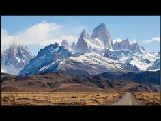 The road to Monte Fitz Roy on the Argentina - Chile border Landscape Photos, Landscape Photography, Nature Photography, Places Around The World, Around The Worlds, Wonder Over Yonder, Beautiful Nature Pictures, World Cities, Photo Series