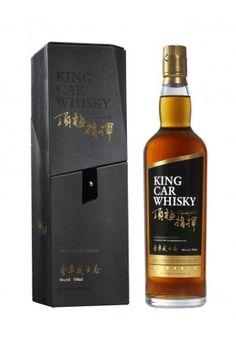 """Kavalan """"King Car"""" - Taiwanese, invecchiato in sherry e bourbon, da cui acquisisce il tipico sapore forte in gola, come ogni taiwanese invecchiato poco, 3 anni se non sbaglio (l'umidità velocizza l invecchiamento notevolmente), molto differente nelle fasi di bevuta (provato, particolare davvero ma un ottimo whisky, patisco un pochino l'invecchiamento in botti di bourbon ma vale la pena provarlo se riuscite a trovarlo)"""