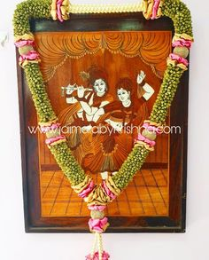 Garlands for your Cherishing moments! Offering the best designs of garlands for Engagement, wedding and other occasions! Flower Garland Wedding, Cheap Wedding Flowers, Flower Garlands, Wedding Bouquets, Wedding Mandap, Diy Wedding Backdrop, Wedding Decorations, Wedding Knot, Wedding Day