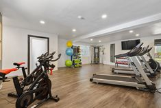 Get your sweat on in our newly renovated, state-of-the-art center.