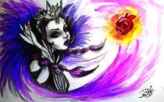 Raven Queen -The Evil Queen by HecateInNightmare.deviantart.com on @DeviantArt