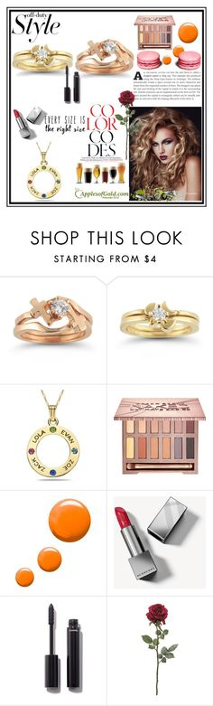 """Apples of Gold Jewelry 1"" by almin-sturm ❤ liked on Polyvore featuring beauty, Urban Decay, Topshop, Burberry and Chanel"