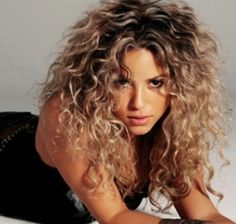 Shakira hair My hair inspiration.  Wondering if I could pull off the blonde.