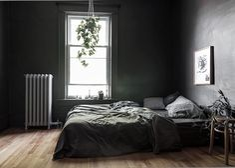 (my) dark grey bedroom