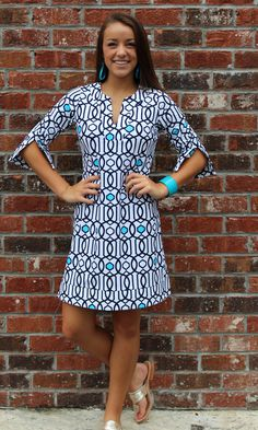 Jude Connally Megan Tunic Dress- love this dress but not in white!!