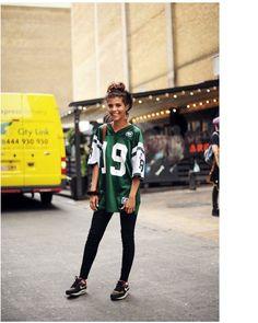 10 Stylish Ways to Wear A Sports Jersey  Fashion Sports Jerseys bb69349846