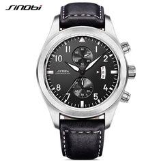 Save Major $$ this #BlackFriday at SaveMajor.com - SINOBI Mens Milit... #savemajor http://savemajor.com/products/sinobi-mens-military-chronograph-wrist-watches-luxury-brand-date-leather-clock-male-sports-shock-geneva-quartz-wristwatch?utm_campaign=social_autopilot&utm_source=pin&utm_medium=pin
