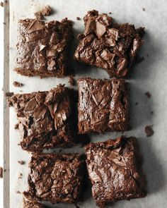 brownies from whole-wheat flour and applesauce. cocoa powder plus 8 ounces of semisweet chocolate make them nice and fudgy.