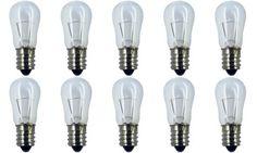 130 V Box of 6 CEC Industries #11S14//130V Bulbs S-14 shape E26 Base 11 W