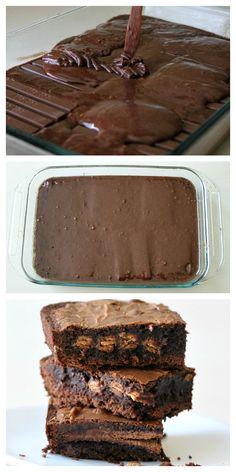 kitkat brownies.