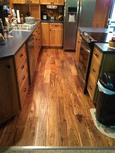 Beautiful Tobacco Road Acacia Replaced Plain White Tile In This Kitchen  Flip!