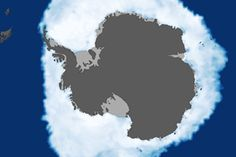 Antarctic Sea Ice Reaches New Maximum Extent : Image of the Day : NASA Earth Observatory