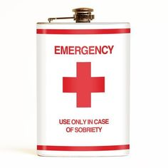 Buy the Retro-ago-go Emergency Stainless Steel Hip Flask online in Australia Emergency First Aid Kit, In Case Of Emergency, Alcohol Gifts, Jerry Can, Work Gifts, College Gifts, Best Gifts For Men, Graduation Gifts, The Magicians