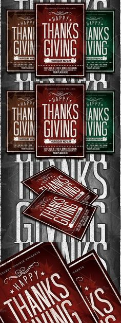 Thanksgiving Flyer Template Flyer template, Template and Business - Invitation Flyer Template
