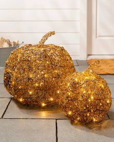 Accentuate your home with the organic elegance of these wire pumpkins. Pumpkin Decorating, Fall Decorating, Halloween Displays, Halloween Decorations, Realistic Christmas Trees, Slim Tree, Balsam Hill, Harvest Season, Tree Shapes