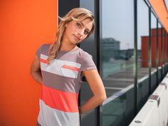 eisbörg Kleid #streetwear #fashion #design #aztec #tangerine #dress