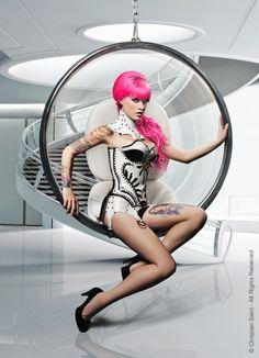 My Dark Passenger - colorfulkink:   Model:  Kelly Eden  Clothing...