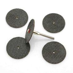 20 unid metal disco de corte para amoladora dremel herramienta rotativa dremel hoja de sierra circular de corte de la rueda disco de lijado herramientas de molienda rueda