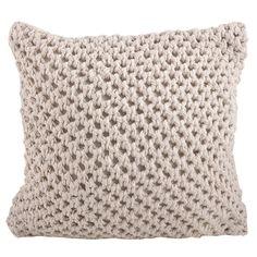 Knitted Design Pillow
