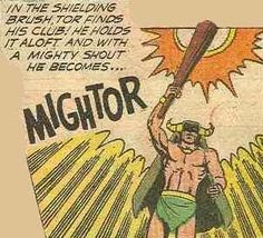 "Mighty Mightor pictures | ... Mighty Mightor ! First, dig on ""Beware! Skullarva!"" from Gold Key's"