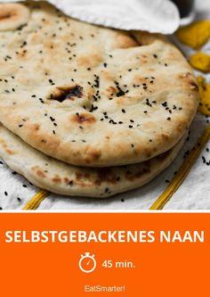 Selbstgebackenes Naan-Brot gelingt einfacher als gedacht!
