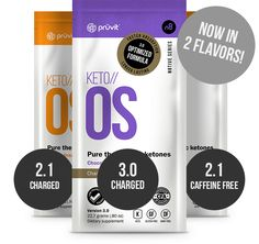 KETO//OS (Ketone Operating System) is a revolutionary drink mix that is based on a proprietary ketone energy technology that delivers advanced macro nutritionals and promotes optimized cellular regeneration, energy and longevity.