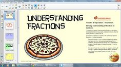 In this interactive Common Core SMART Board lesson, students will be introduced to the basic concept of fractions. This lesson also includes differentiated, challenge questions for an enrichment group, an interactive Match It! game, and Common Core Writing in Math questions.