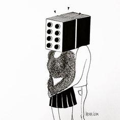 Sonhos e delírios em preto e branco - design - Revista Wide