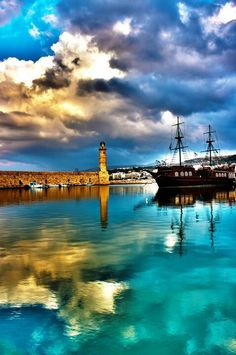 Rethymnon, Crete, Greece.