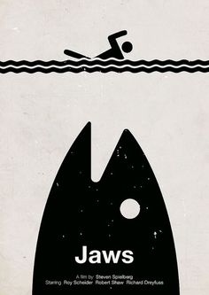 Viktor Hertz is a Swedish designer who made these pictogram movie posters. He's taken an idea from the film and made minimalistic pictogram movie posters out Minimal Movie Posters, Cool Posters, Jaws Movie Poster, Poster Minimalista, Doodle Drawing, Alien 1979, Plakat Design, Pet Sematary, Kunst Poster