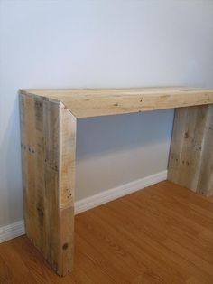 DIY Pallet Console Table | 101 Pallets