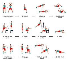 Effective home workout! No more paying for that gym membership you hardly ever use.  #gym #men #guys #fitness #workout #exercise #easy
