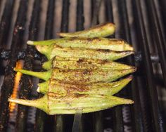 Grilled okra is absolutely delicious cooked on the grill. Cook until the okra is slightly charred for amazing flavor.