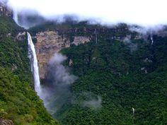 Catarata Gocta la quinta mas alta del Mundo