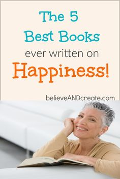 If you want to feel happier then you need to check out these 5 AMAZING books that will show you how to add more happiness to your life! Personal Development Books, Self Development, Amazing Books, Good Books, Happiness Comes From Within, Finding Happiness, Tips To Be Happy, Happiness Challenge, Career Quotes