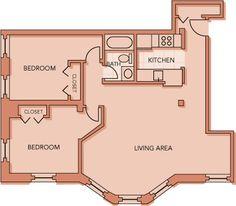 2 Bedroom 203