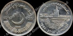 To celebrate the Golden Jubilee of Navy Submarine Force, the Government of Pakistan has decided to issue a Rs 25 Commemorative Coin with e...