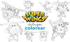 dibujos-colorear-super-wings-para-ninos